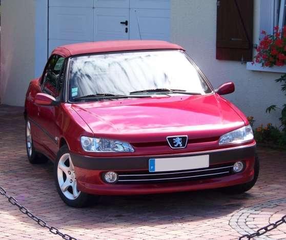 306 cabriolet 2l 16s rouge lucifer annecy auto peugeot. Black Bedroom Furniture Sets. Home Design Ideas