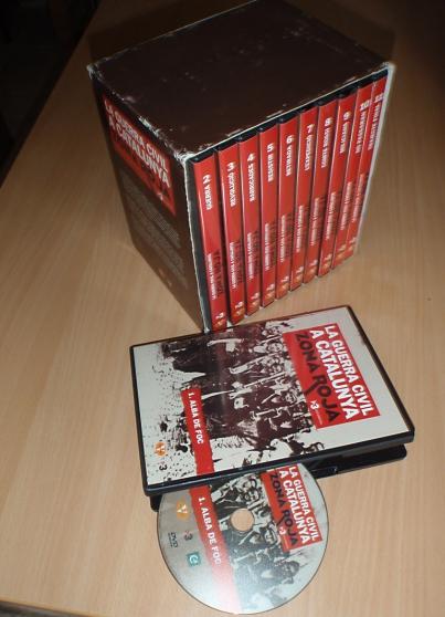 coffret de dvd sur  la guerre civile esp - Annonce gratuite marche.fr