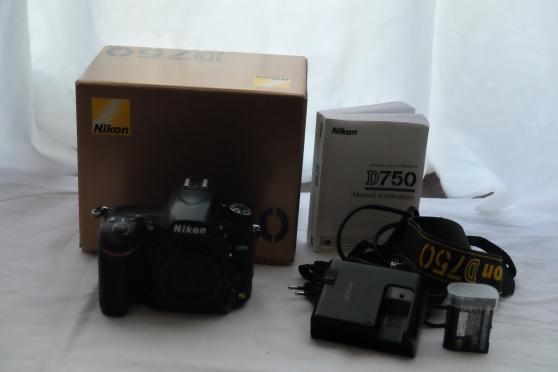 Annonce occasion, vente ou achat 'NIKON D 750'