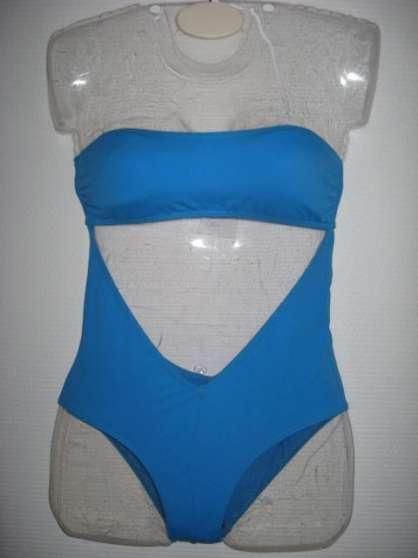 Maillot de bain 1 pce BURBERRY Bleu Tail