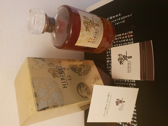 Annonce occasion, vente ou achat 'HIBIKI 12 ANS-SUNTORY WHISKY-KACHO FUGET'