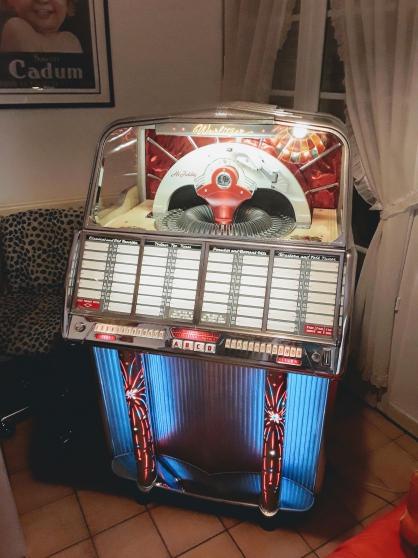 Annonce occasion, vente ou achat 'Juke-box wurlitzer 1800'