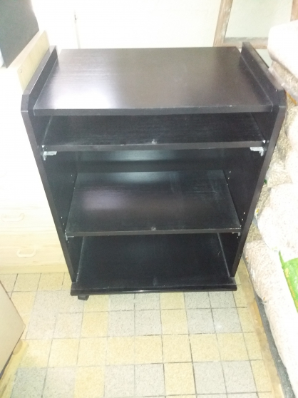 Annonce occasion, vente ou achat 'Meuble informatique noir'