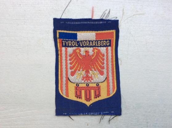 insigne tissus patch gendarmerie ancien