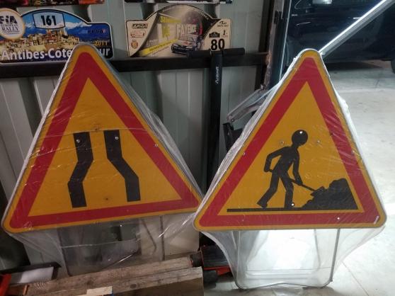 Annonce occasion, vente ou achat 'panneaux signalisation temporaire'