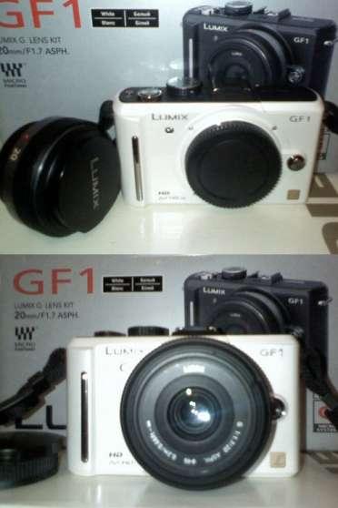 Panasonic Lumix DMC-GF1 Blanc + 20mm