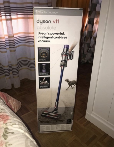 Annonce occasion, vente ou achat 'Aspirateur Dyson V10 absolute neuf'