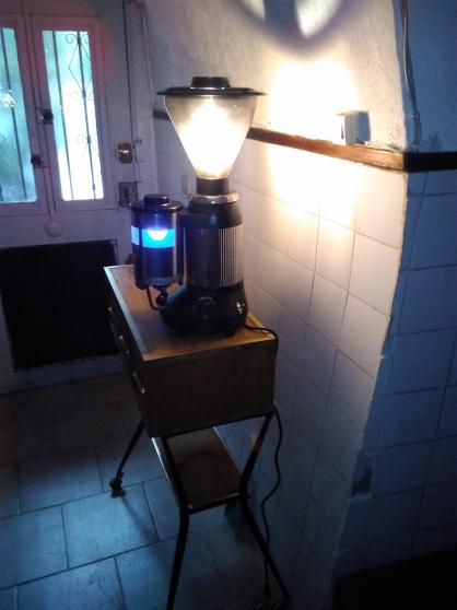 Lampe Santos industrielle