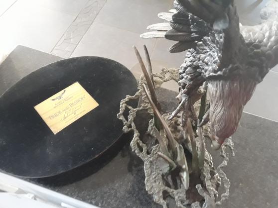 Bronze de l\'Aigle D\'Alaska - Photo 3