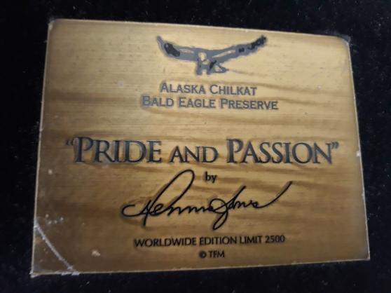 Bronze de l\'Aigle D\'Alaska - Photo 4
