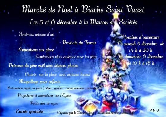 Annonce occasion, vente ou achat 'Marché de Noel à Biache Saint Vaast'