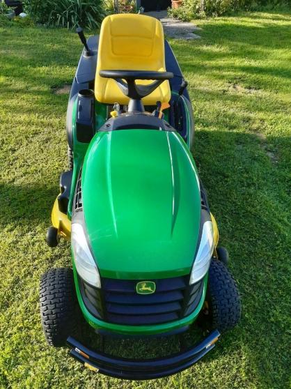 Annonce occasion, vente ou achat 'Tracteur tondeuse John Deere X155R'
