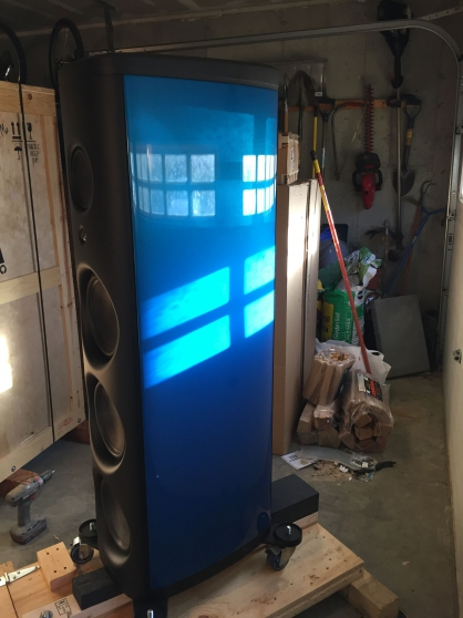 Annonce occasion, vente ou achat 'Achat Magico M Project enceintes bleues'