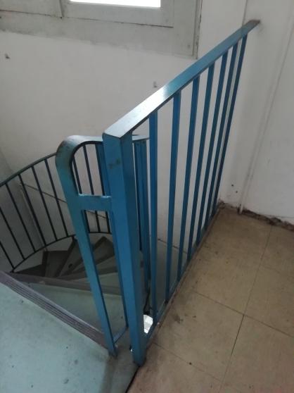 Escaliers hélicoïdaux à démonter