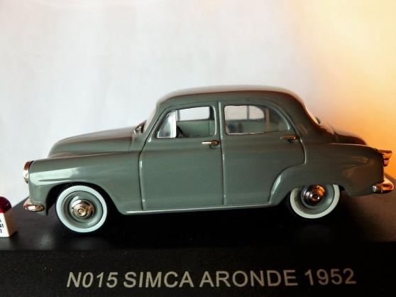 Annonce occasion, vente ou achat 'SIMCA ARONDE 1952 NOSTALGIE 1/43ème'