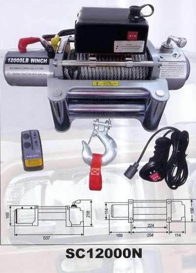 Annonce occasion, vente ou achat 'TREUIL ELECTRIQUE 12V - 5440 kg -'