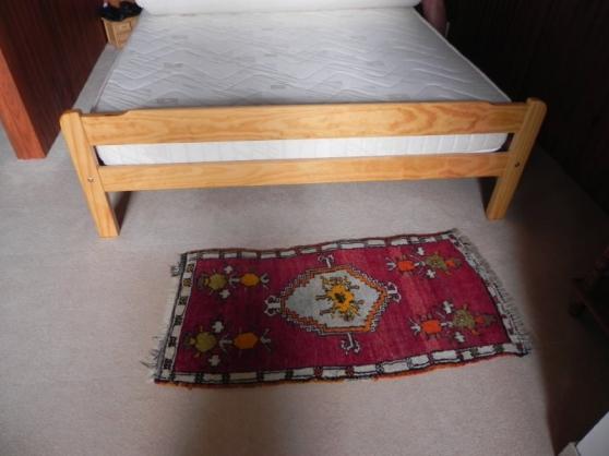 Vente lit en bois à lattes