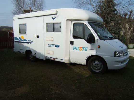 Annonce occasion, vente ou achat 'camping car pilote'