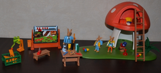 playmobil famille lapin de p que cole jouets jeux. Black Bedroom Furniture Sets. Home Design Ideas