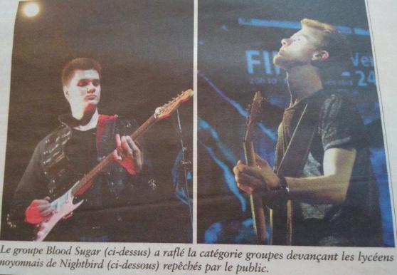 Blood Sugar,trio rock recherche bassiste - Photo 2