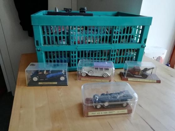 collection de voitures miniatures