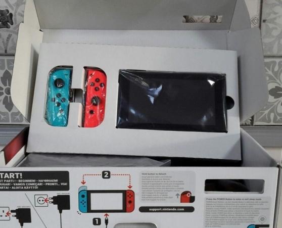 Annonce occasion, vente ou achat 'Console Nintendo Switch'
