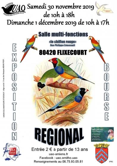 Annonce occasion, vente ou achat 'CONCOURS REGIONAL EXPOSITION & BOURSE'