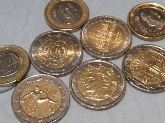 Annonce occasion, vente ou achat '2 pièces en euros différentes.'