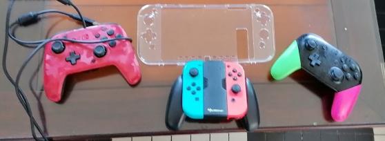 Nintendo switch +3 jeux Mario