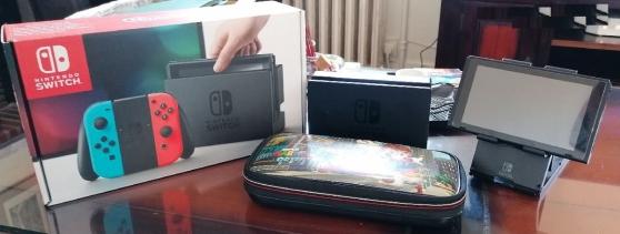 Nintendo switch +3 jeux Mario - Photo 3