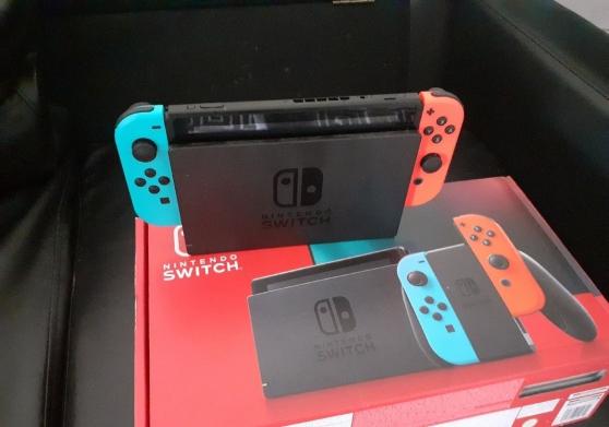 Nintendo switch quasiment neuve
