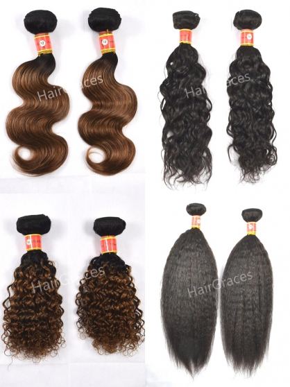 remy hair bundles extension naturels wig - Photo 2