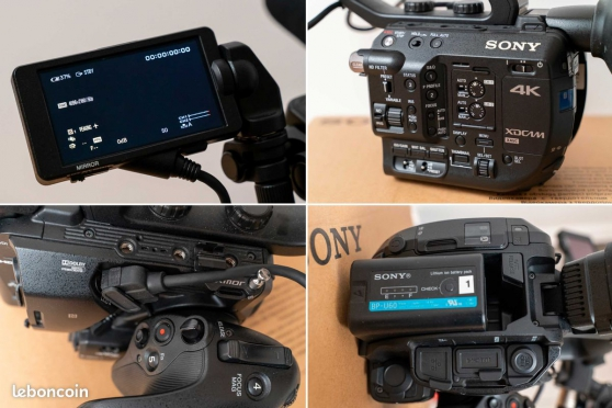 Sony PXW FS5 RAW 4K + micro canon Sony - Photo 2