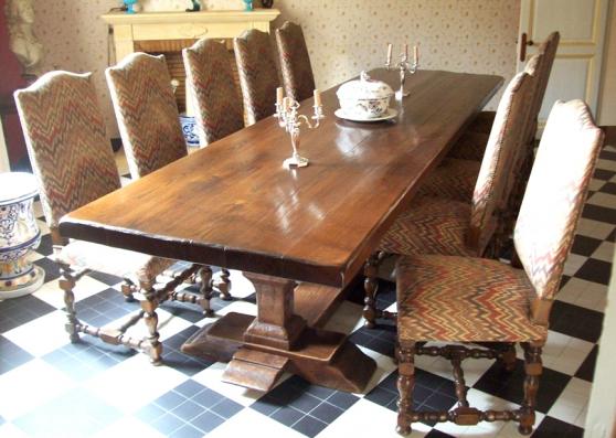 Annonce occasion, vente ou achat 'Grande Table en Chêne'