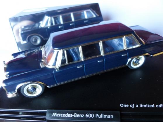 Annonce occasion, vente ou achat 'MERCEDES 600 PULMAN- VITESSE 1/43ème'