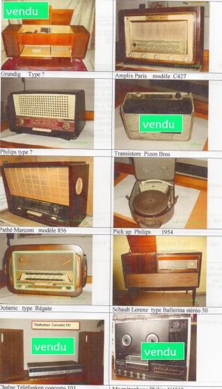 Annonce occasion, vente ou achat 'Collection de radios anciennes'