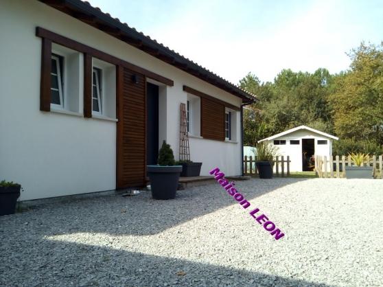A vendre maison contemporaine 85 m²