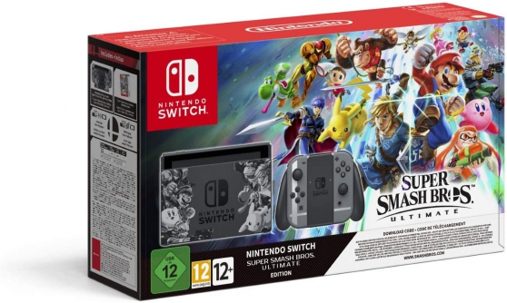 Annonce occasion, vente ou achat 'Nintendo Switch Super Smash Bros.Ultimat'