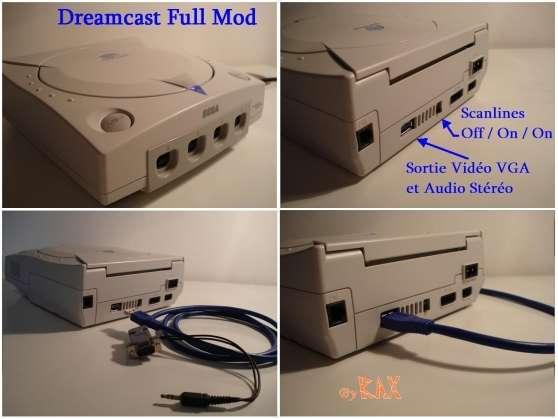 Modifications Consoles Rétro / Arcade