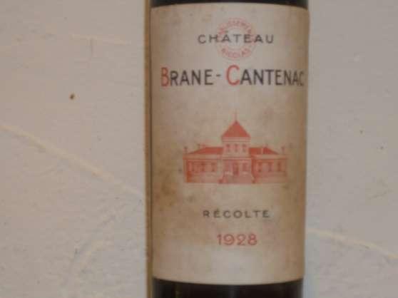1 BOUTEILLE BRANE CANTENAC 1928 - Photo 2