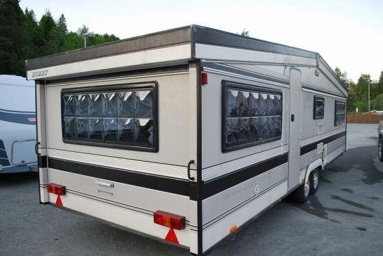 Caravane hobby landhaus occasion