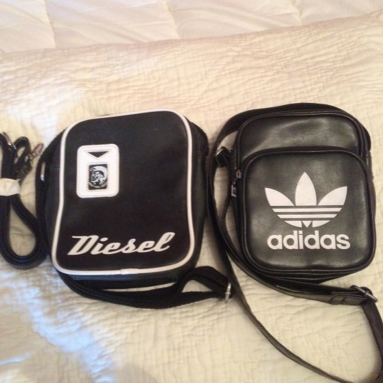 Sacoche Adidas et Diesel