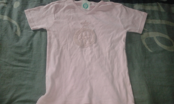 t-shirt de l'asse rose