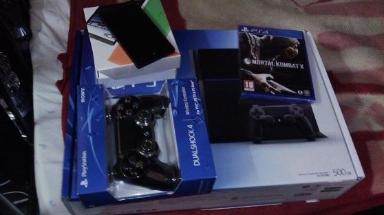Playstation 4 et quelques jeux à vendre