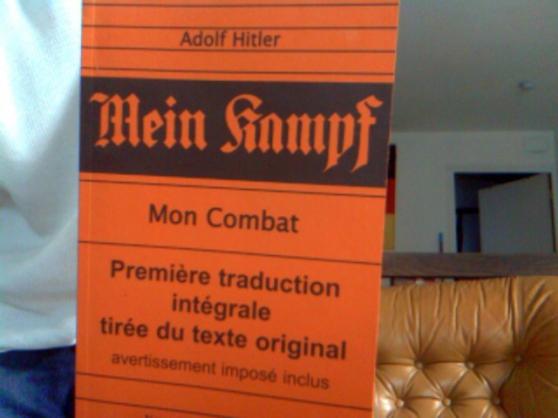Annonce occasion, vente ou achat 'mein campf'