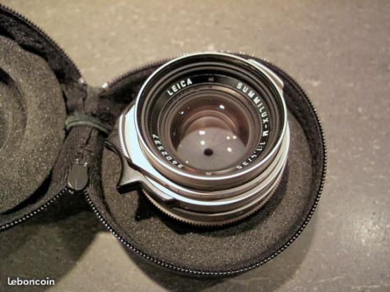 Petite Annonce : Objectif leica summilux m 1,4/35 - Superbe objectif Leica M Summilux 1,4/35 pré-asphérique version