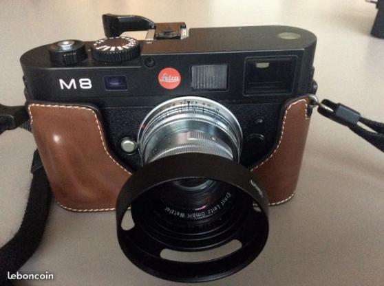 Petite Annonce : Leica m8 - A vendre très bel appareil photo numérique de type télémétrique Leica