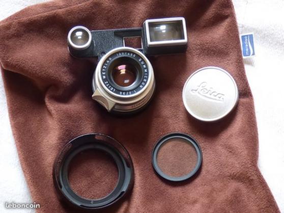 Petite Annonce : Leica summicron m 35mm f2 8 elements lei - Seul bémol sur ce superbe objectif: une bulle dans le collage du