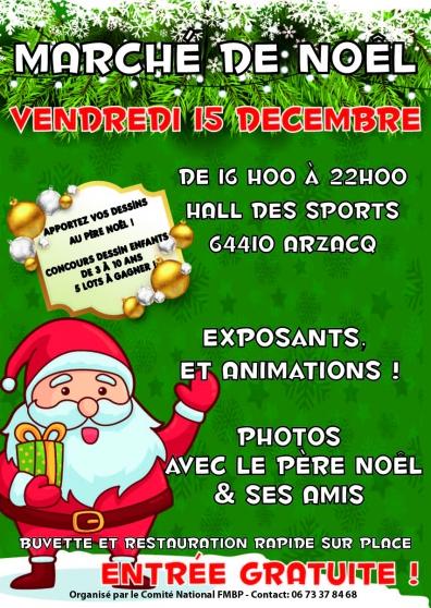 marché de noël à arzacq arraziguet - Annonce gratuite marche.fr