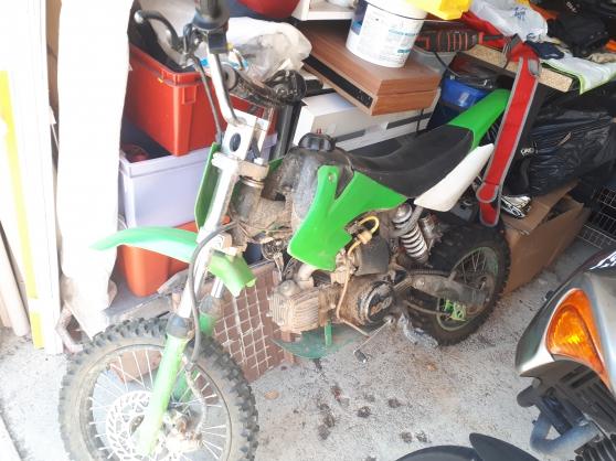 Annonce occasion, vente ou achat 'Dirt 125cc + pièces (NEGOCIABLE)'